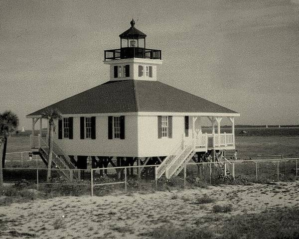 Photograph Poster featuring the photograph Boca Grande Lighthouse by Lois Lepisto