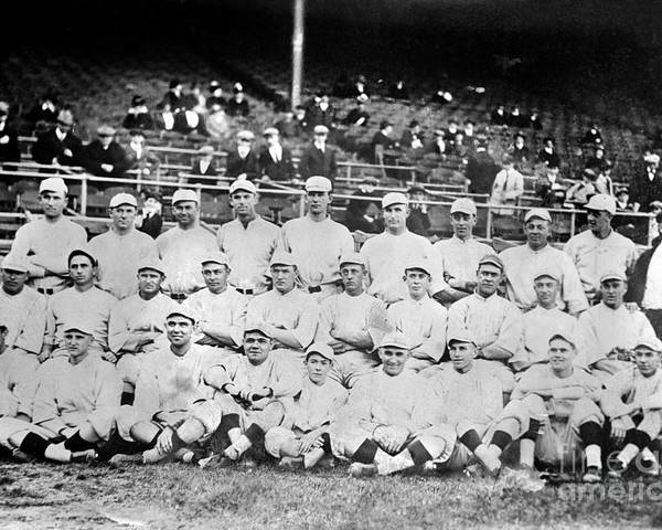 1916 Poster featuring the photograph Boston Red Sox, 1916 by Granger