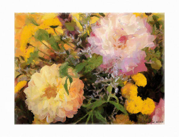 Digital Poster featuring the photograph Bouquet by Ron Alderfer
