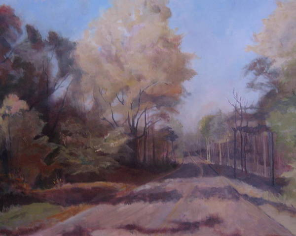 Landscape Poster featuring the painting Braim Road by Terri Messinger