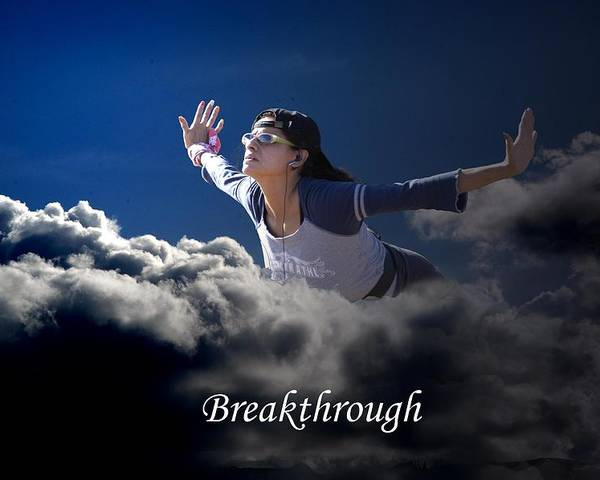 Sky Poster featuring the photograph Breakthrough by Richard Gordon