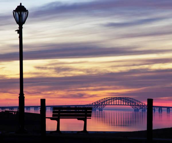 Bridge Poster featuring the photograph Bridge Reflection by Vicki Jauron