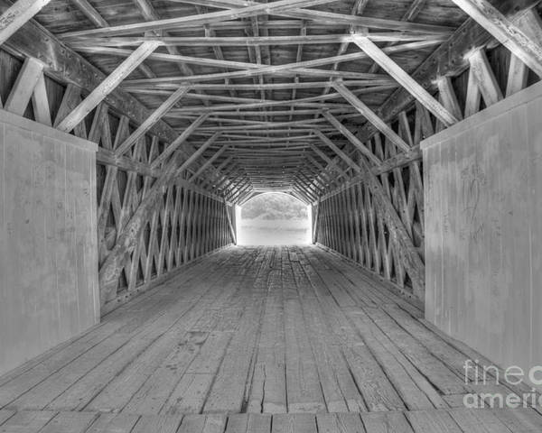 Hdr Poster featuring the photograph Bridges of Madison County by David Bearden