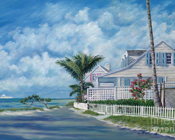 Harbor Island Poster featuring the painting Briland Breeze by Danielle Perry