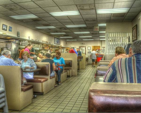 Hdr Poster featuring the photograph Bronze Brunch by Larry Underwood