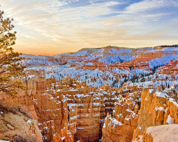 West Poster featuring the photograph Bryce Canyon Sunset by Ches Black