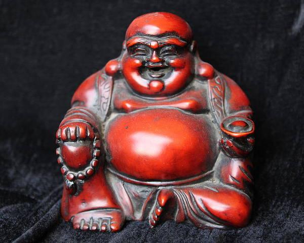 Buddha Poster featuring the photograph Buddha 2 by Sladjana Lazarevic