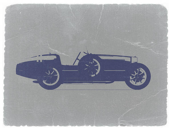 Bugatti Type 35 Poster featuring the photograph Bugatti Type 35 by Naxart Studio
