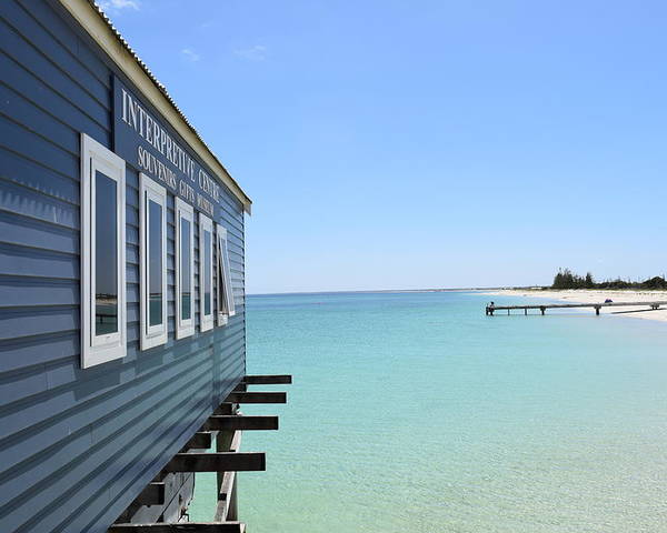 Busselton Poster featuring the photograph Busselton Jetty by Anna