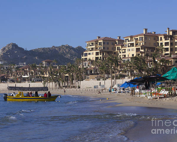 Tourist Poster featuring the photograph Cabo San Lucas - Mexico by Anthony Totah