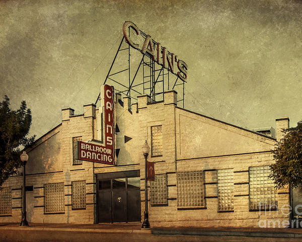 Tulsa Poster featuring the photograph Cain's Ballroom by Tamyra Ayles
