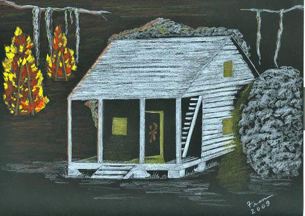 Poster featuring the painting Cajun Bonfires by Fran Hoffpauir