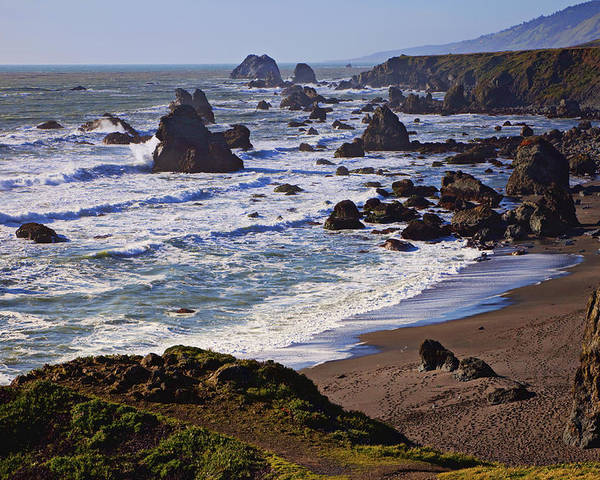 California Coast Poster featuring the photograph California Coast Sonoma by Garry Gay