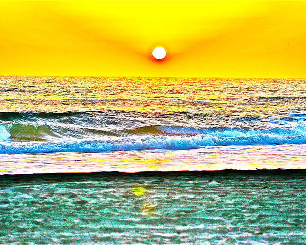 Sunset Poster featuring the photograph California Sunset by Jeremy Stewart