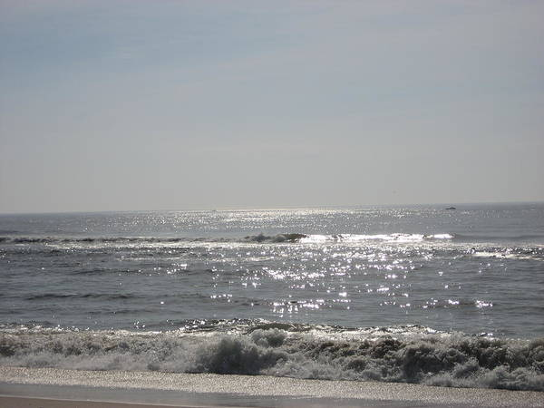Ocean Poster featuring the photograph Calming Waves by Jennifer Sweet