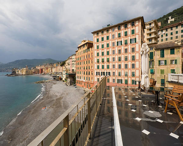 Italy Poster featuring the photograph Camogli 4 by Luigi Barbano BARBANO LLC