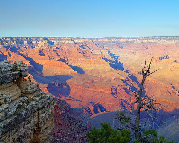 Autumn Poster featuring the photograph Canyon Grandeur by Beth Collins