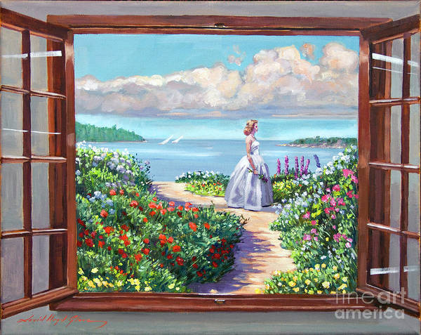 Fantasy Poster featuring the painting Cape Cod Beauty by David Lloyd Glover