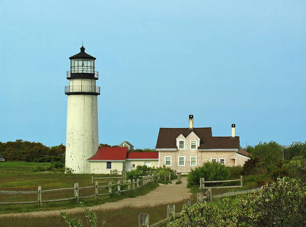 Highland Lighthouse Poster featuring the photograph Cape Cod Highland Lighthouse by Juergen Roth