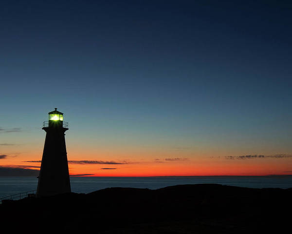Canada Poster featuring the photograph Cape Spear Sunrise by Linda Cullivan