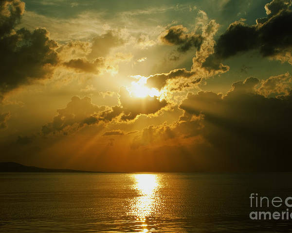 Sunset Poster featuring the photograph Carpe Diem by Andrew Paranavitana