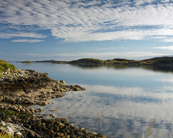Carragreich Bay Poster featuring the photograph Carragreich Bay Harris by Bill Spiers