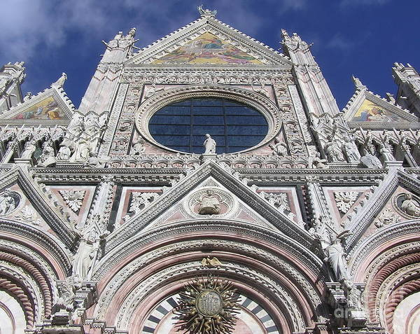Cattedrale Siena Poster featuring the photograph Cattedrale Di Siena by Enrico Ripamonti