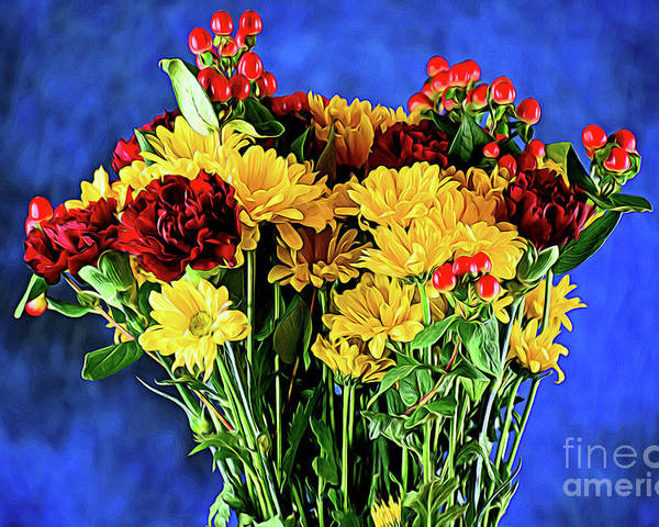 Cherished Love 121117-1 Poster featuring the photograph Cherished Love 121117-1 by Ray Shrewsberry