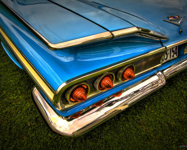 Transportation Poster featuring the photograph Chev One by Jerry Golab