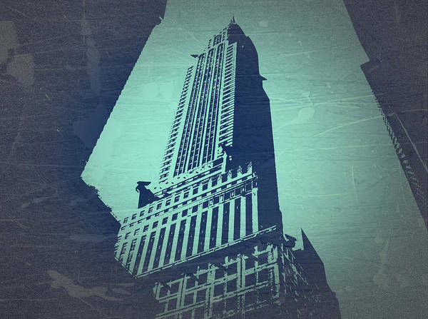 Chrysler Building Poster featuring the photograph Chrysler Building by Naxart Studio