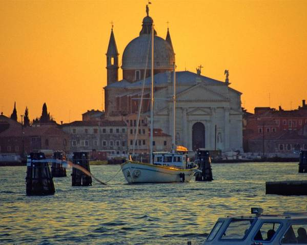 Venice Poster featuring the photograph Church of the Redentore in Venice by Michael Henderson
