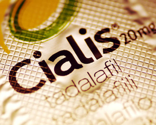 Cialis Poster featuring the photograph Cialis Packaging by Pasieka