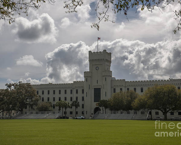 Citadel Poster featuring the photograph Citadel Military College by Dale Powell