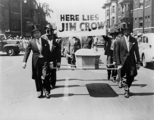 History Poster featuring the photograph Civil Rights Demonstration In A Naacp by Everett