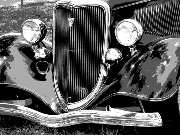 Car Poster featuring the photograph Classic 2 by Audrey Venute