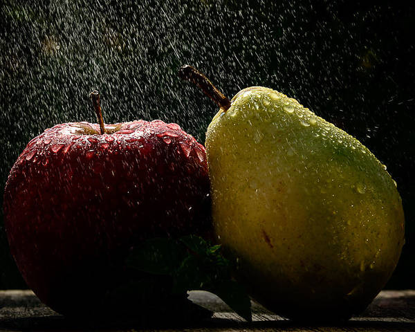 Fruits Poster featuring the photograph Cleansing by Catalin Tibuleac