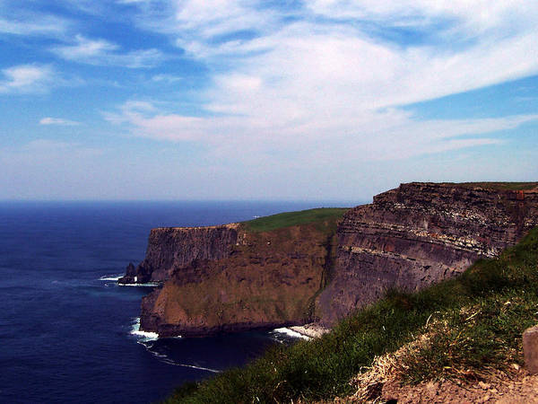 Irish Poster featuring the photograph Cliffs of Moher Aill Na Searrach Ireland by Teresa Mucha