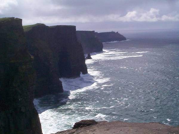 Ireland Poster featuring the photograph Cliffs Of Moher by Charles Kraus