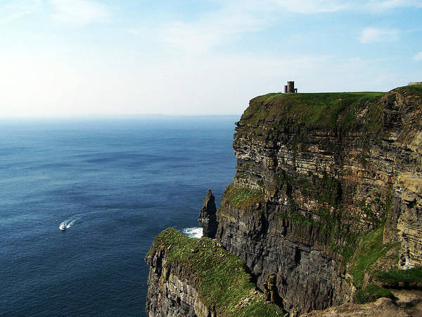 Irish Poster featuring the photograph Cliffs Of Moher Ireland by Teresa Mucha
