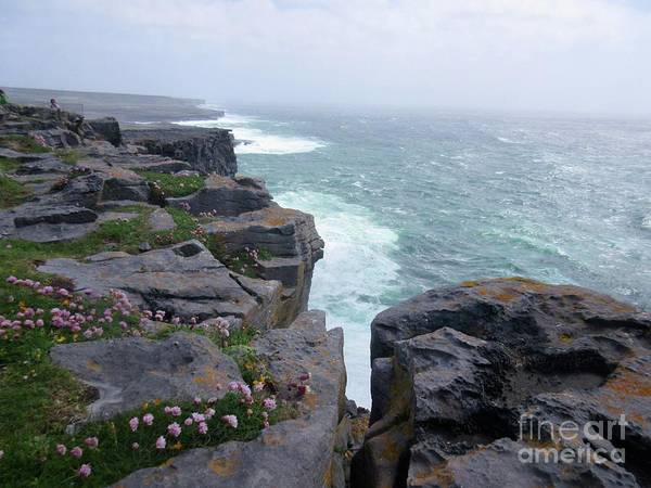 Ireland Poster featuring the photograph Cliffs Of The Aran Islands 4 by Crystal Rosene