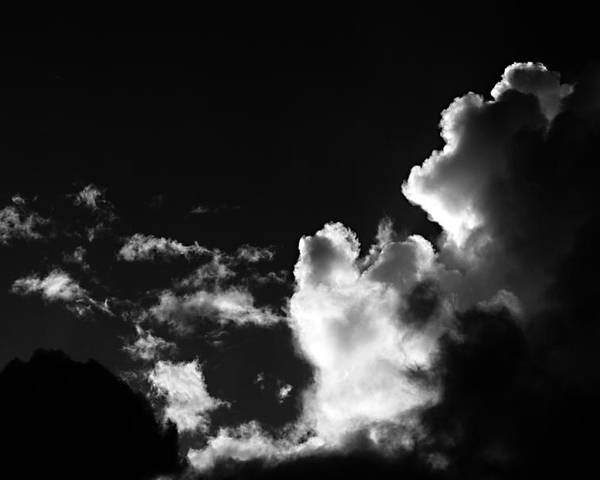 Cloud Poster featuring the photograph Clouds-5- St Lucia by Chester Williams