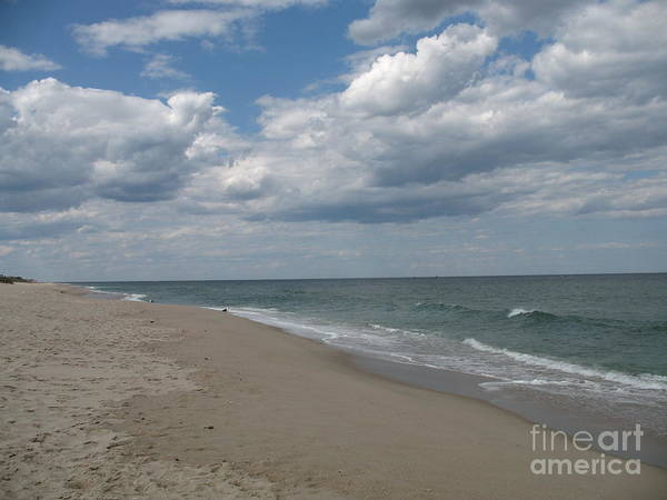 Clouds Poster featuring the photograph Clouds Over The Sea by Christiane Schulze Art And Photography