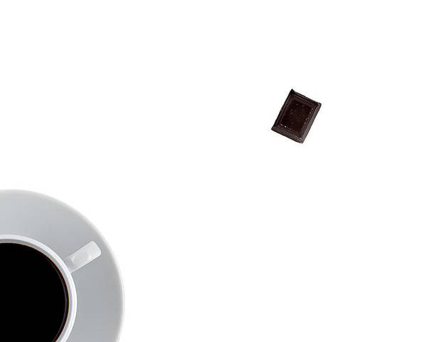 Au Lait Poster featuring the photograph Coffee And Chocolade by Gert Lavsen