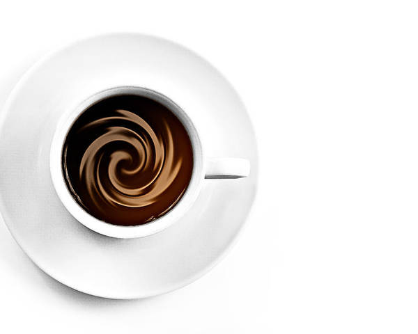 Aroma Poster featuring the photograph Coffee And Cream by Gert Lavsen