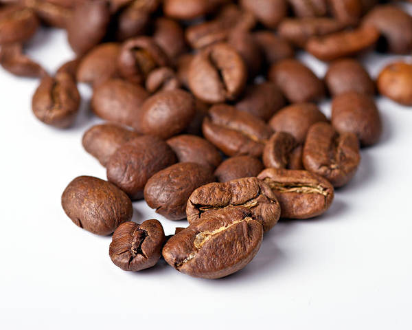 Aroma Poster featuring the photograph Coffee Beans by Gert Lavsen