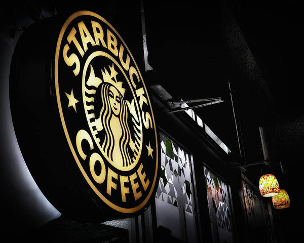 Starbucks Poster featuring the photograph Coffee Break by Spencer McDonald