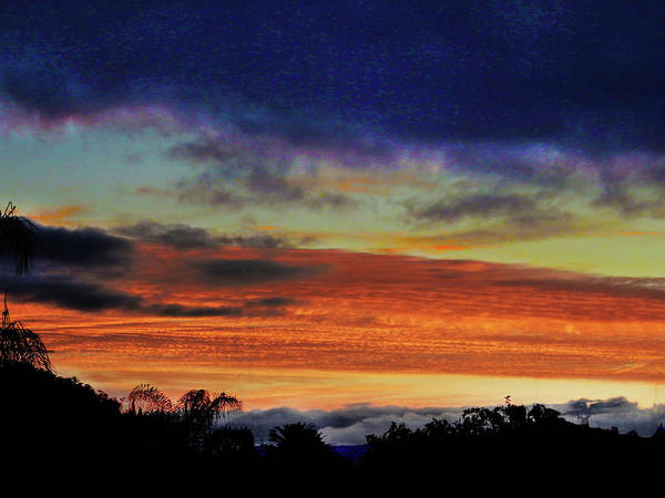 Sunrise Poster featuring the photograph Cold Sunrise by Mark Blauhoefer