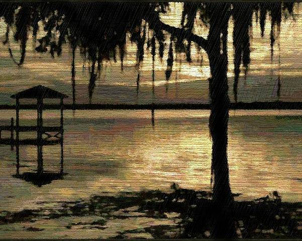 Florida Poster featuring the digital art Colee Cove by Scott Waters