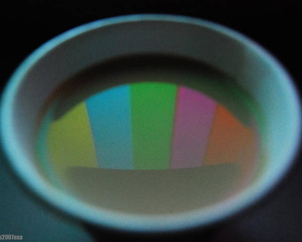 Cup Poster featuring the photograph Color Bars by Gerard Yates