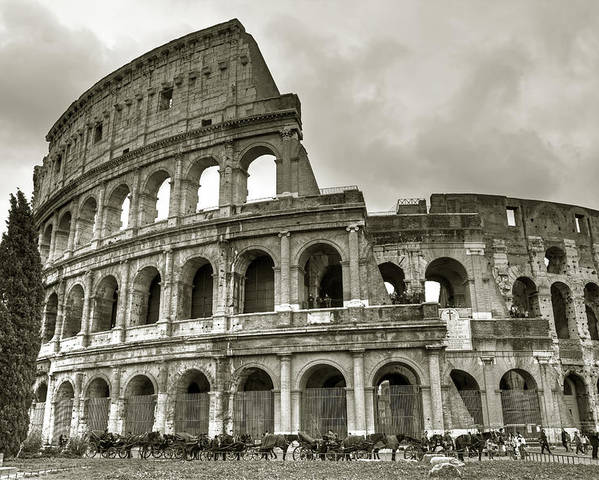 Colosseum Poster featuring the photograph Colosseum Rome by Joana Kruse